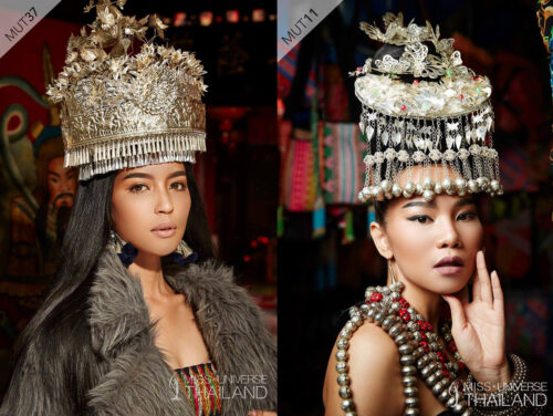 Thai Crown Contenders Ready to Vie for 'Universe' (Photos)