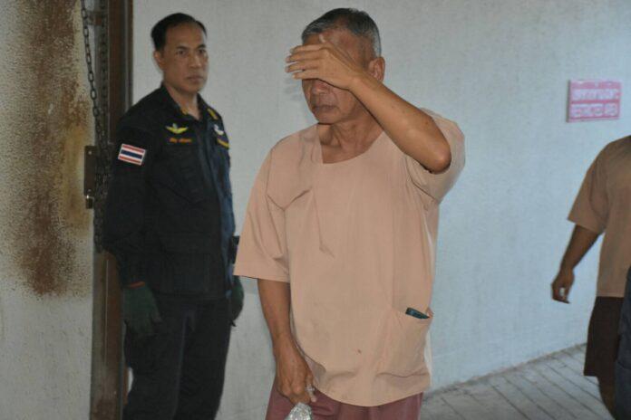 Wattana Poomarej, 62, today in Bangkok.