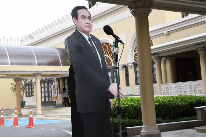 Thailand's Leader Uses Cardboard Stand-In to Avoid Journalists' Questions