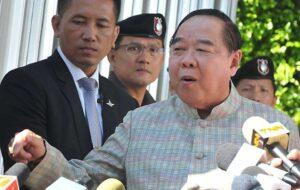 Minister Skips Meeting After Putting Prawit on Blast