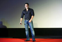 "Indian Bollywood actor Salman Khan smiles as he attends the trailer launch of his movie ""Hero"" in 2015 in Mumbai, India. Photo: Rajanish Kakade / Associated Press"
