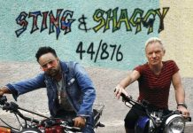"This cover image released by A&M & Interscope Records shows ""44/876,"" a release by Sting and Shaggy. A&M & Interscope Records / Associated Press"