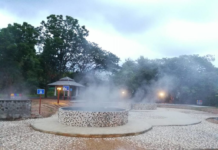 Hot springs at a resort in Chiang Mai province. Photo: Matichon