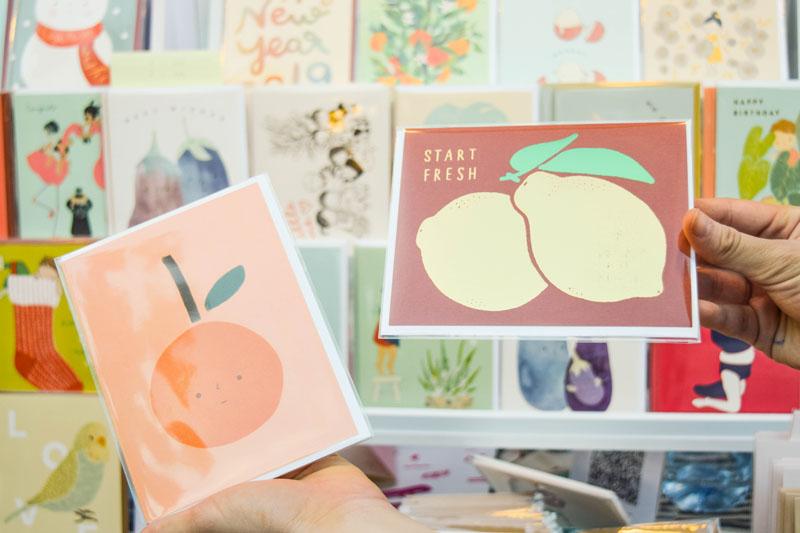 Thai greeting card brand Pianissimo Press.