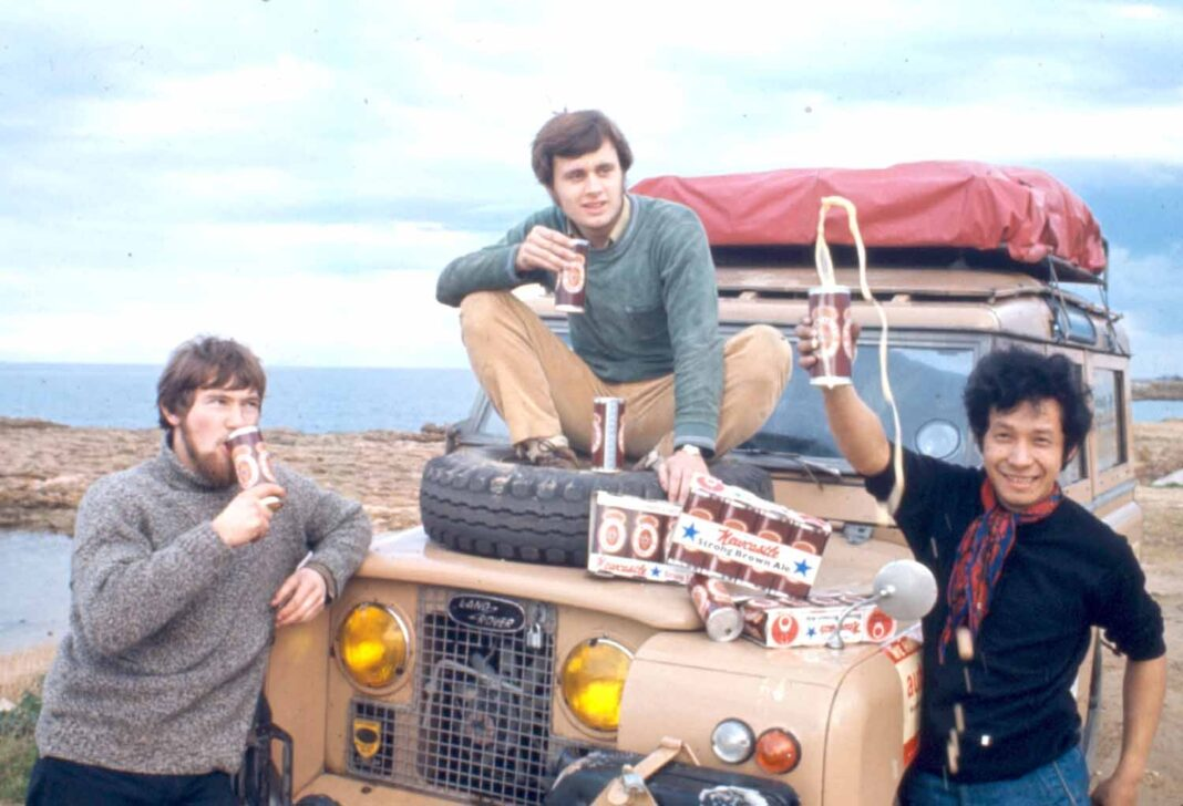 One Thai Man's Epic Overland Journey from the UK to Bangkok in 1970