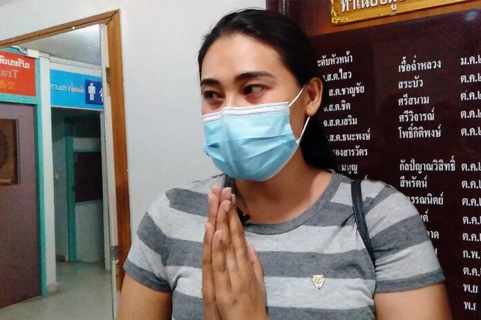 "Ornuma ""Khu Jum"" Plodprong at the Chaiyaphruek Police Station on Oct. 4, 2020."